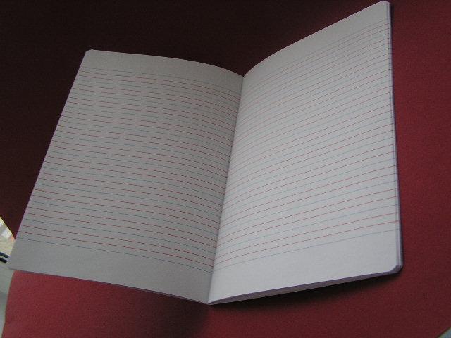 zeszyt a5  16k 3 linie kolorowe     produkty dla biura